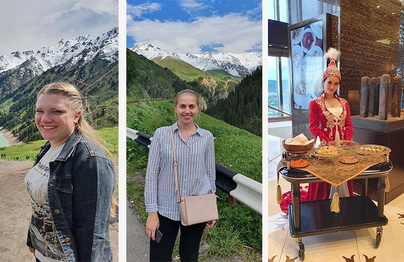 رحلة إلى ألماتي ..  بانوراما الطبيعة الساحرة فوق قمم الجبال !