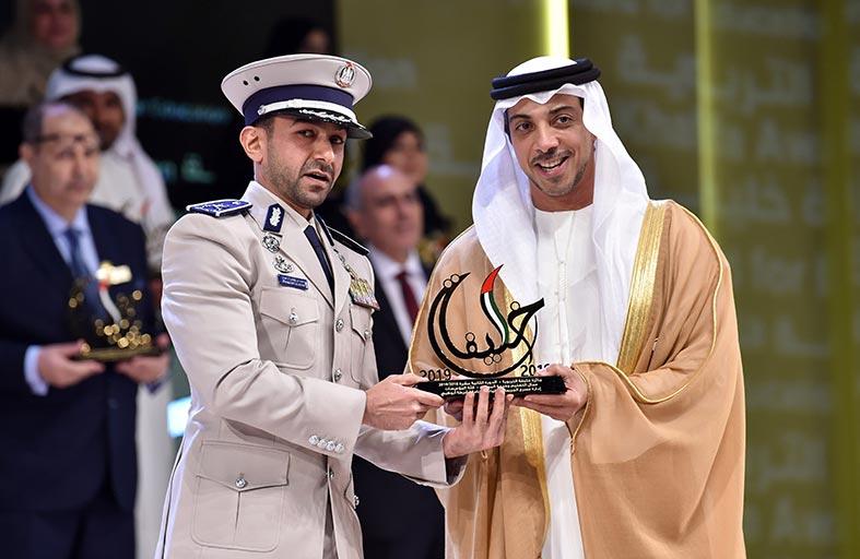 منصور بن زايد يكرم الفائزين بجائزة خليفة التربوية في دورتها الـ 12