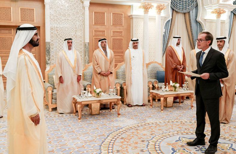 محمد بن راشد: مجتمع الإمارات مجتمع التسامح والمحبة والقيم الإنسانية ونحرص على مد جسور التواصل الإنساني أولا مع كافة الدول