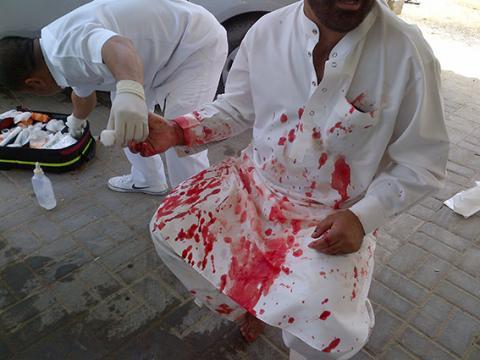 شرطة عجمان تقبض على متهم اعتدى على موظفي شركة بالسلاح الأبيض بعد إنهاء خدماته منها