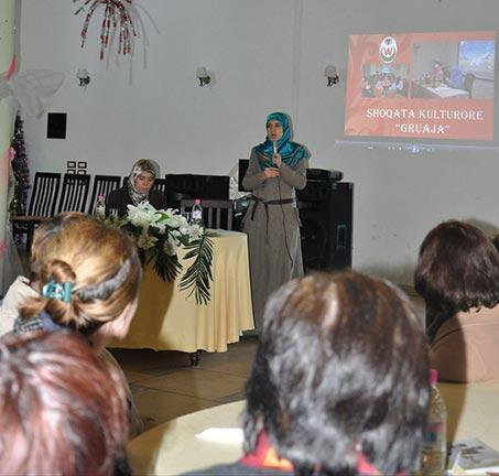 لقاء في مدينة روغوشينا(Rrogozhinë) بعنوان: اغرس محبة الله في قلبك