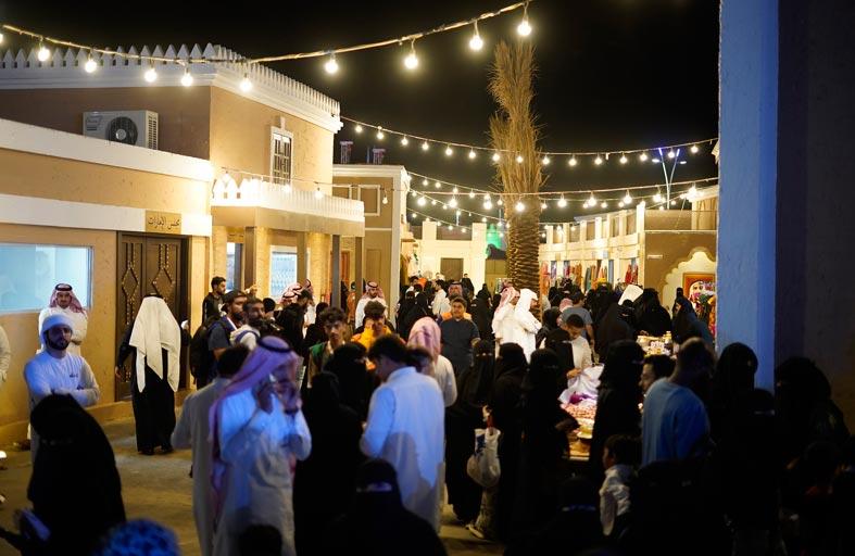 التراث الإماراتي حاضراً في النسخة الـ 13 من مهرجان «سوق عكاظ» بالطائف