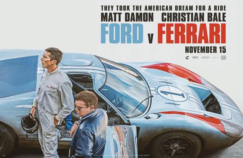 فورد ضد فيراري يتصدر إيرادات السينما في أمريكا الشمالية