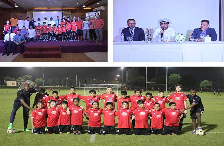 الكتبي : نستخدم كرة القدم في الترويج لقيم التعاون والتسامح