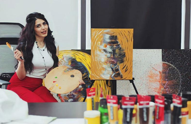 الفنانة جناريتا العرموطي رئيساً لفرع المنظمة الدولية للفنون في الأردن