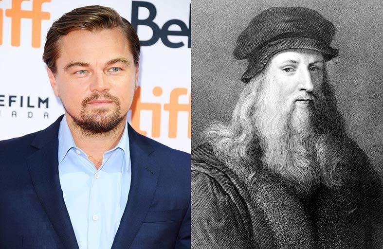 دي كابريو يجسِّد دور  ليوناردو دافنشي