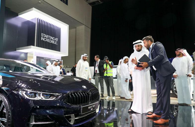 أحمد بن محمد يفتتح الدورة الـ 15 من معرض دبي الدولي للسيارات