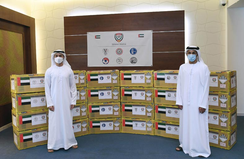 «اتحاد الكرة» يطلق المرحلة الثانية من مبادرة المساعدات الطبية «للاتحادات الآسيوية» دعما لمواجهة «جائحة كورونا»