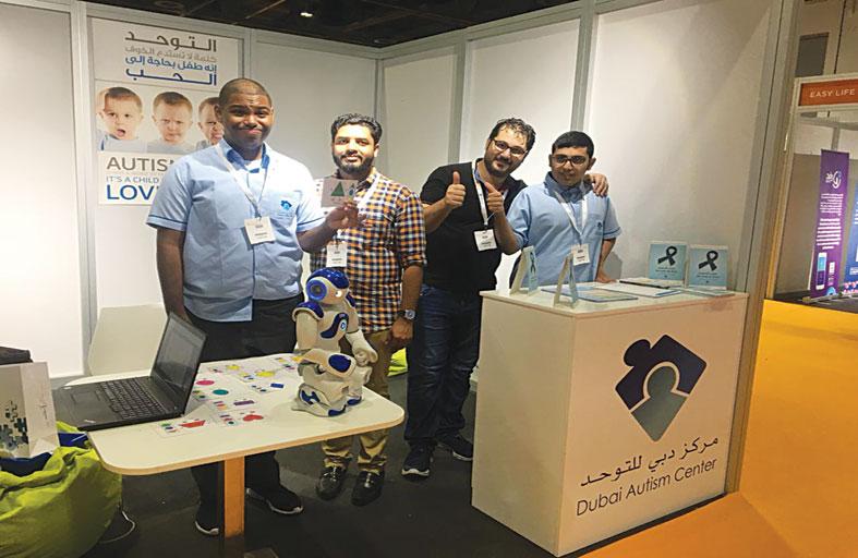 «دبي للتوحد» يشارك في معرض اكسبو أصحاب الهمم