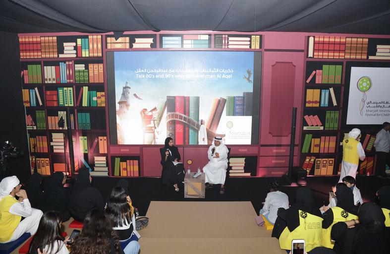 الفنان عبد الرحمن العقل يكشف أسرار بداياته للناشئة ويشيد بجهود سلطان القاسمي