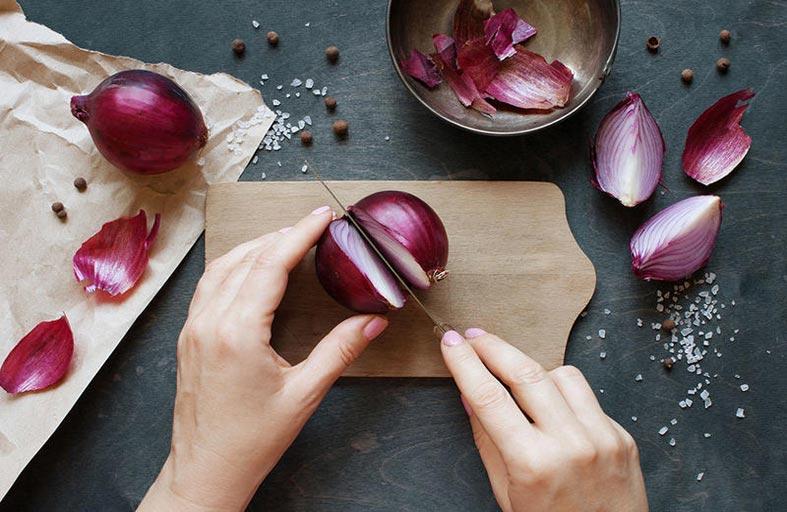فوائد البصل الأحمر في تقوية المناعة