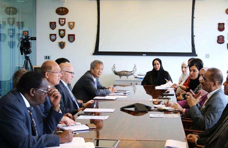وزير البنية التحتية : الإمارات أعدت نفسها لإعادة الترشح لفئة « ب » فى البحرية الدولية
