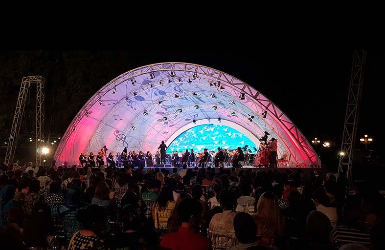 مهرجان جبالا الموسيقي الدولي.. أنغام آسرة وسط طبيعة ساحرة