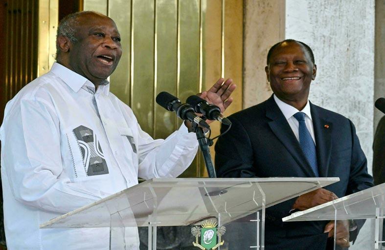 وتارا بعد استقبال غباغبو: النزاع بات «وراءنا»