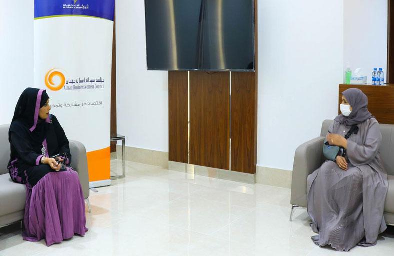 مجلسا سيدات أعمال أبوظبي وعجمان يبحثان تنفيذ مبادرات مشتركة