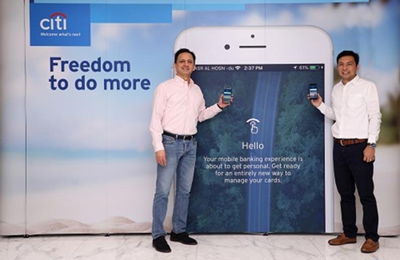سيتي بنك يطلق النسخة المطورة من تطبيقه للهواتف الذكية في الإمارات