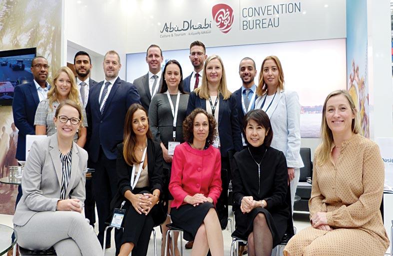 11 من الشركاء ضمن جناح أبوظبي عقدوا 224 اجتماعاً مع منظمي الفعاليات