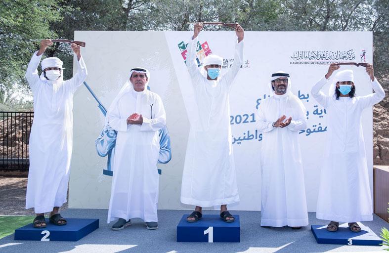 تتويج أبطال «الإماراتيين» في بطولة فزاع للرماية بالسكتون للمواطنين