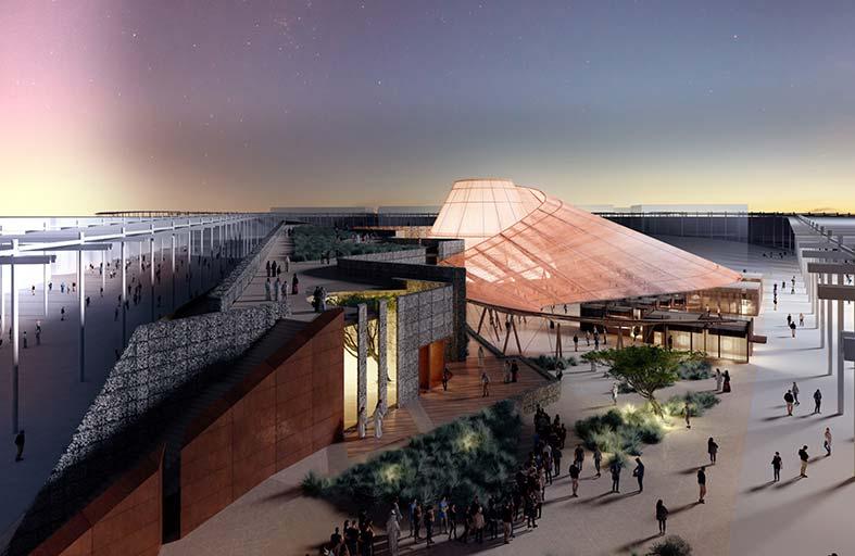 «إكسبو 2020 دبي» يكشف عن التصميم التفاعلي لجناح الفرص