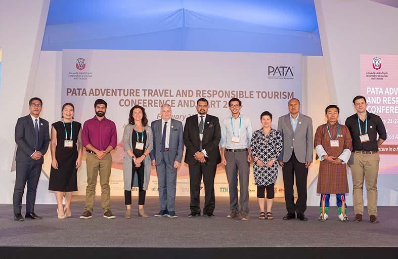 43 مشاركاً يمثلون اتحاد وكالات السفر لدول الباسيفيك «باتا»  في معرض ومؤتمر سفر المغامرات والسياحة المسؤولة 2018 في منطقة العين