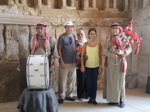 معبد هرقل الروماني وقصر بني أمية مازالا شاهدين على التاريخ العريق !