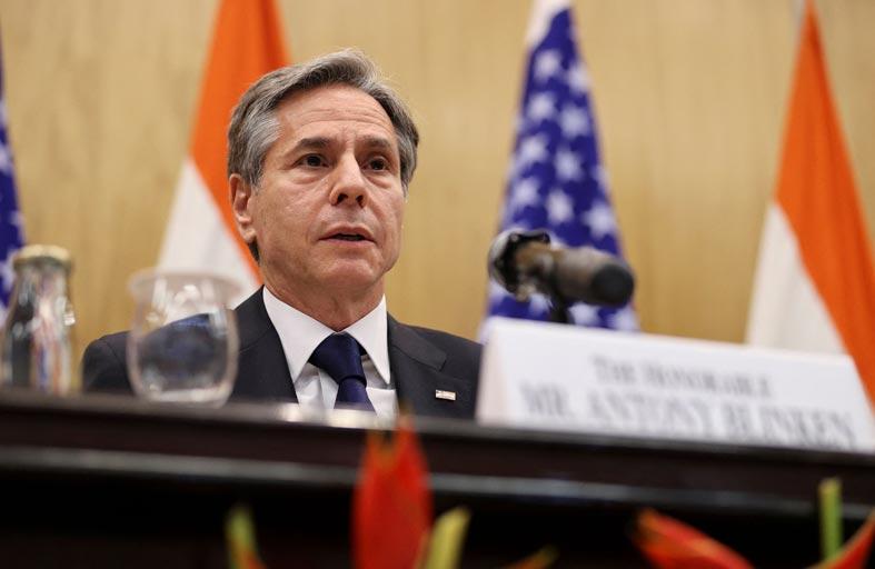 بلينكن في الهند لمناقشة ملفات أفغانستان والصين وحقوق الإنسان