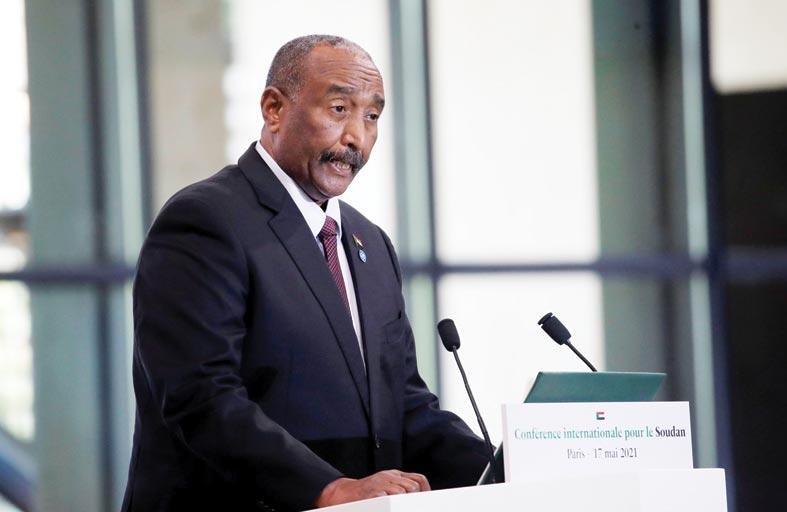 البرهان: نسعى لاتفاق  ملزم بشأن سد النهضة