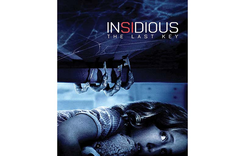 Insidious :The Last Key يرتقي بمستواه بعد سلسلة أربعة أفلام