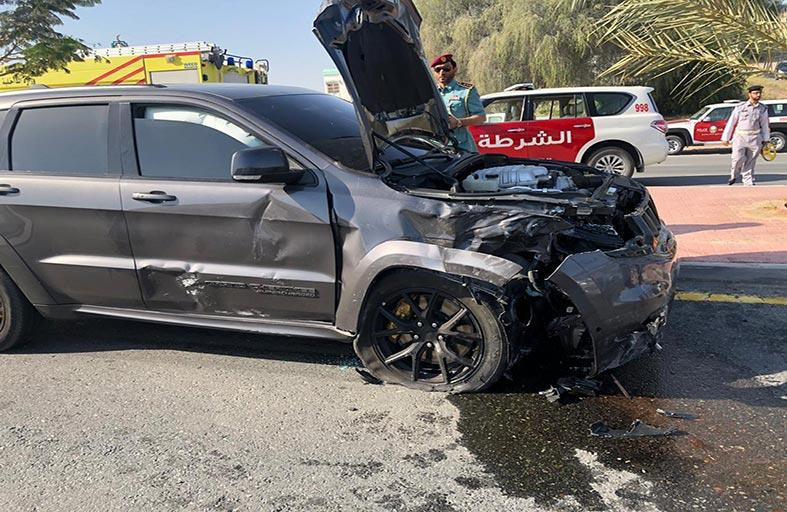 وفاة مواطن في حادث تصادم برأس الخيمة