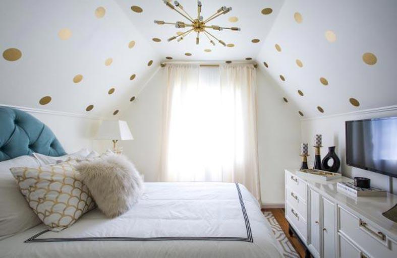 حيل مبتكرة لديكور غرفة النوم صغيرة المساحة