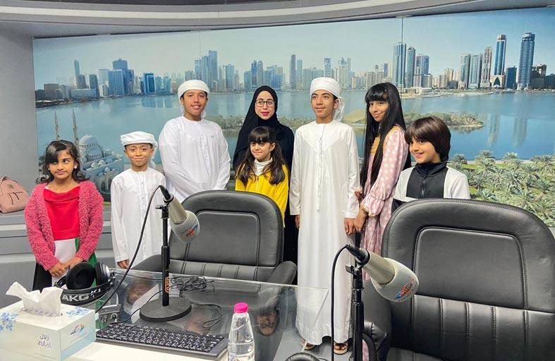 إذاعة الشارقة تحتفي بيوم الطفل الإماراتي وتؤكّد دوره كمرتكز في بناء المستقبل