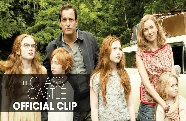 The Glass Castle ينجح في التركيز على هدفه