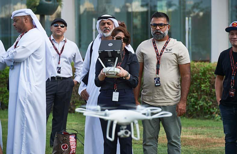 «إكسبوجر 2018» يستعرض فنون التصوير الحديثة بالطائرات المسيَّرة