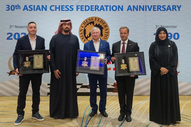 الاتحاد الآسيوي للشطرنج يحتفل بمرور 30 عاما على التأسيس