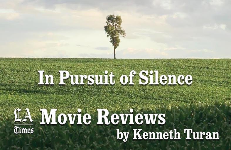 In Pursuit of Silence.. فيلم وثائقي مذهل