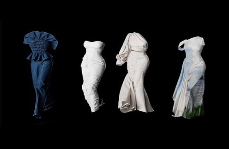 مصممة تقدم تصوراً لعروض الأزياء في ظل كورونا