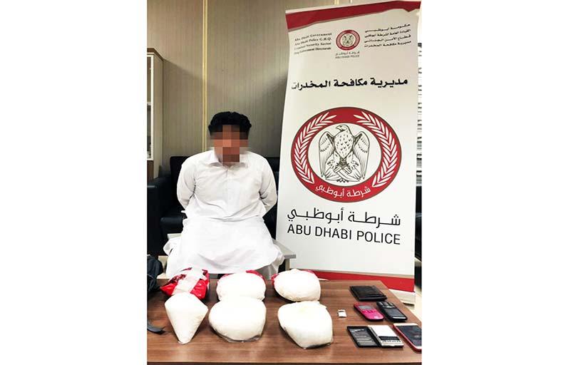 شرطة أبوظبي  تطيح بخياط يتاجر بمخدر الكريستال «القاتل»