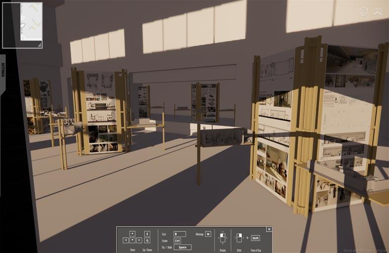 معرض «افتراضي» لمشاريع تخرج طالبات التصميم الداخلي بكلية «فنون» جامعة زايد