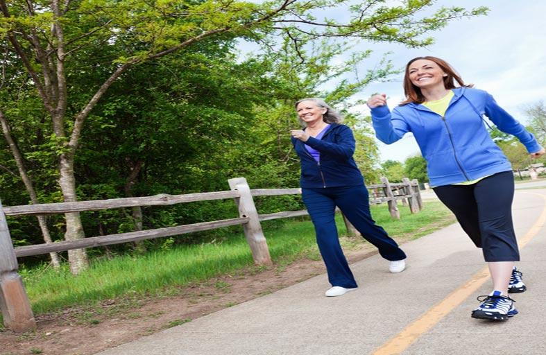 10 الاف خطوة يومياً  للحفاظ على صحتك