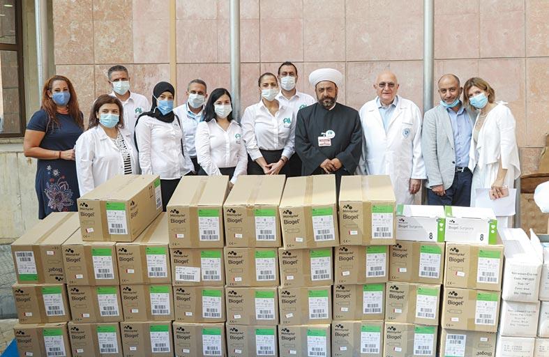 مبادرة شخصية من خلف الحبتور دعماً للقطاع الصحي اللبناني