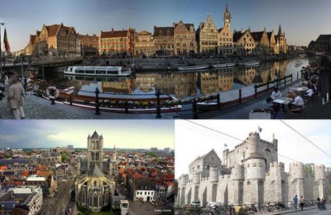 غنت  البلجيكية .. من أكبر وأغنى المدن في شمال أوروبا