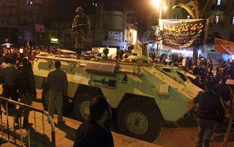 ضباط شرطة في مصر يحتجون على إقصائهم