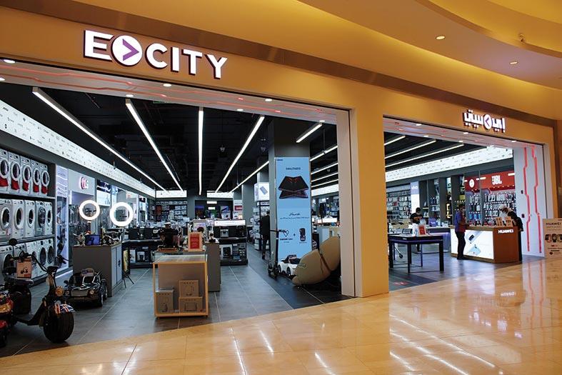 إي سيتي تفتتح متجراً جديداً في ياس مول بأبوظبي