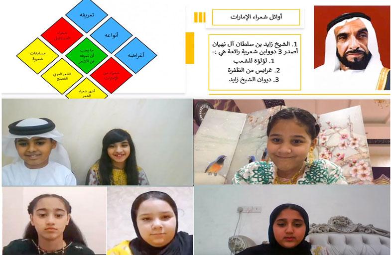 أطفال الشارقة تطلق أنشطة وبرامج عن بعد لتنمية المهارات