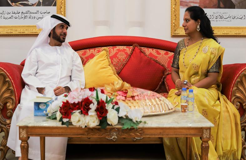 وفد من ولاية تيلانجانا الهندية يبحث التعاون الاستثماري مع شركة جرين جيت للاستثمار الإماراتية