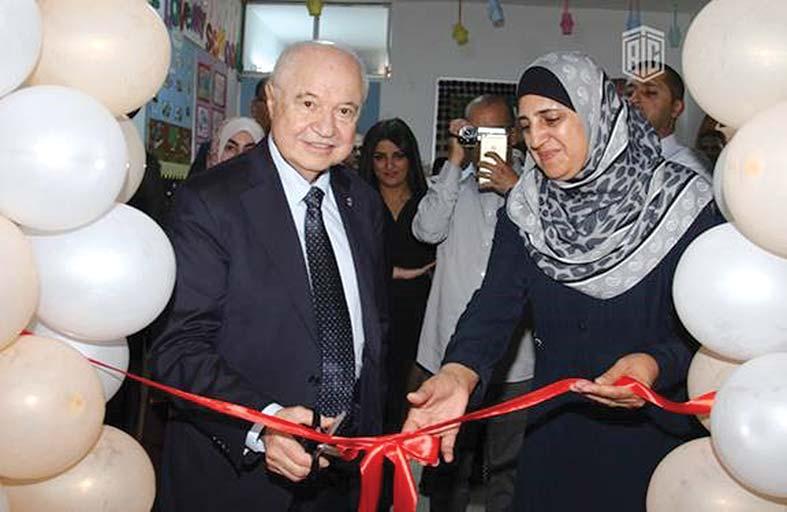 افتتاح «مكتبة طلال أبو غزالة» في مدرسة «أحد» الأساسية للبنات