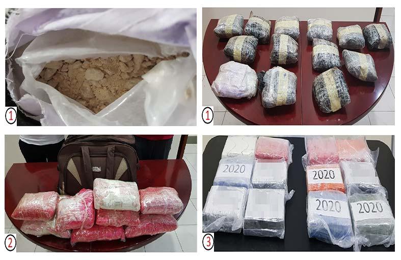 ثلاث عمليات نوعية لشرطة دبي توقع بناشطين دوليين في تهريب المخدرات