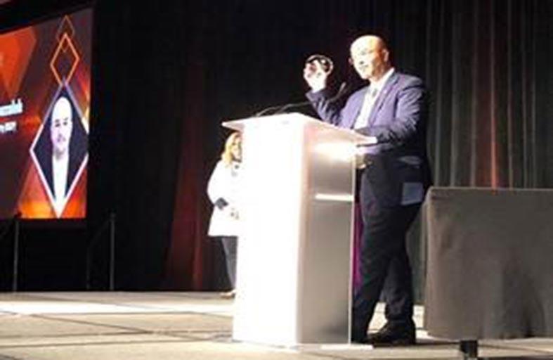 المدير التنفيذي لتطوير الأعمال الوطنية في أبوغزالة للملكية الفكرية  يحصد جائزة «الإنتا» للخدمة التطوعية لعام 2018