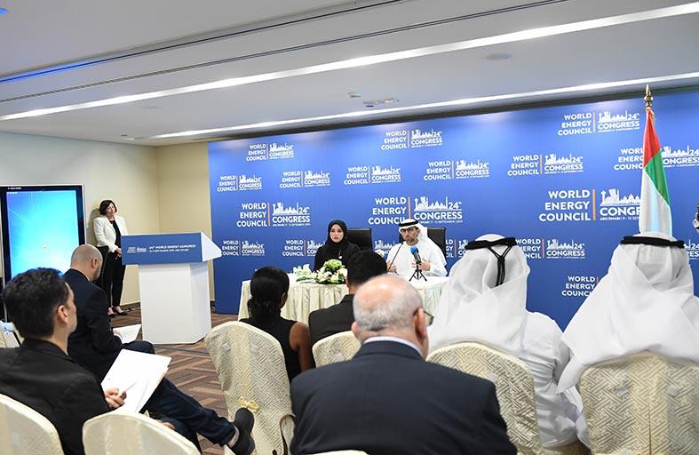 سهيل المزروعي: استضافة الإمارات لـ «مؤتمر الطاقة العالمي» يتوج جهودها في القطاع