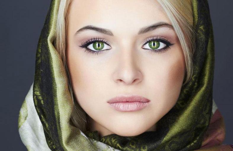 ماكياج لصاحبات العيون الخضراء